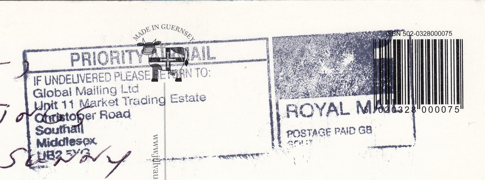 Royal Mail Postage Rates To Canada 2011