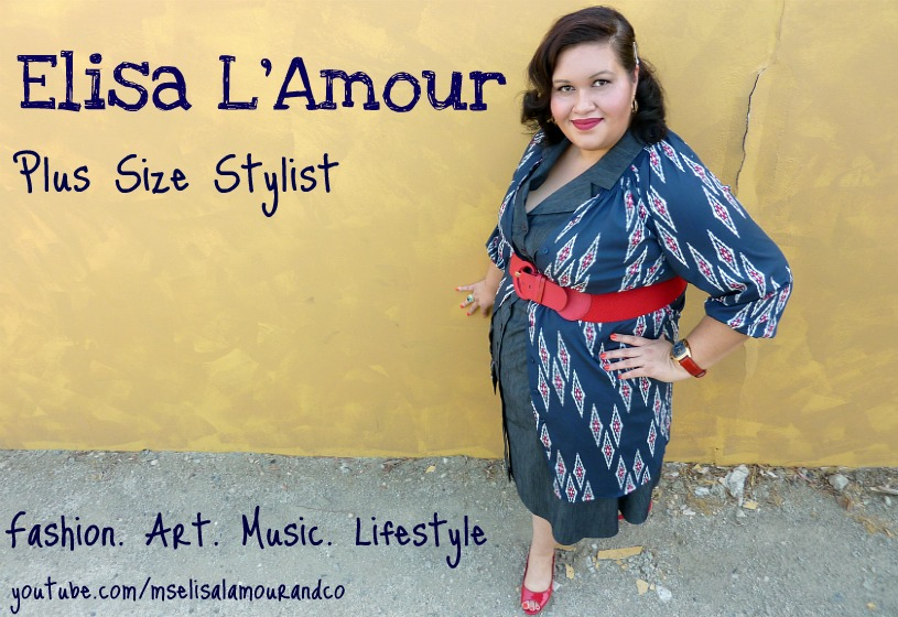 Elisa L&#39;Amour: Plus Size Fashion Stylist