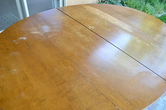 Seriously Damaged Table Top