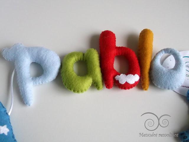Nombre de fieltro Pablo