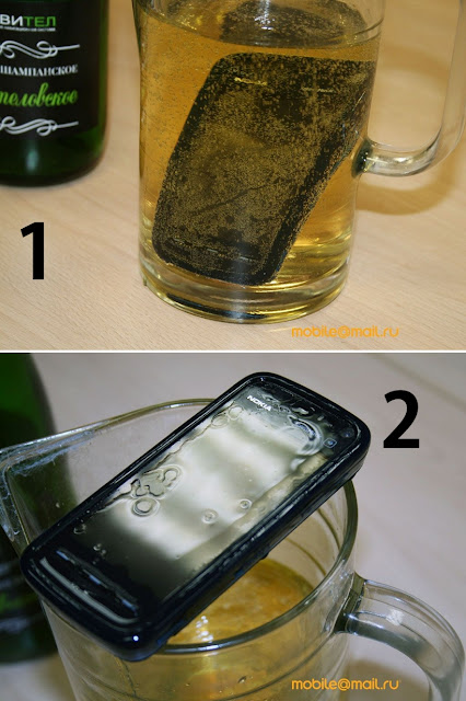 Nokia 5800 XpressMusic – Damage Test