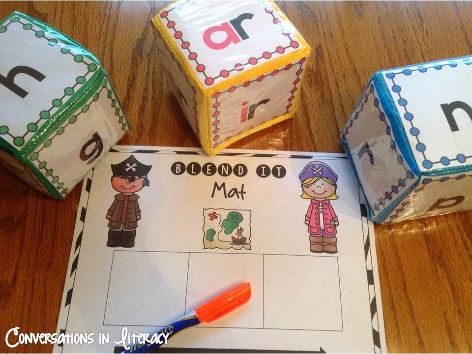 r-controlled vowel center activity