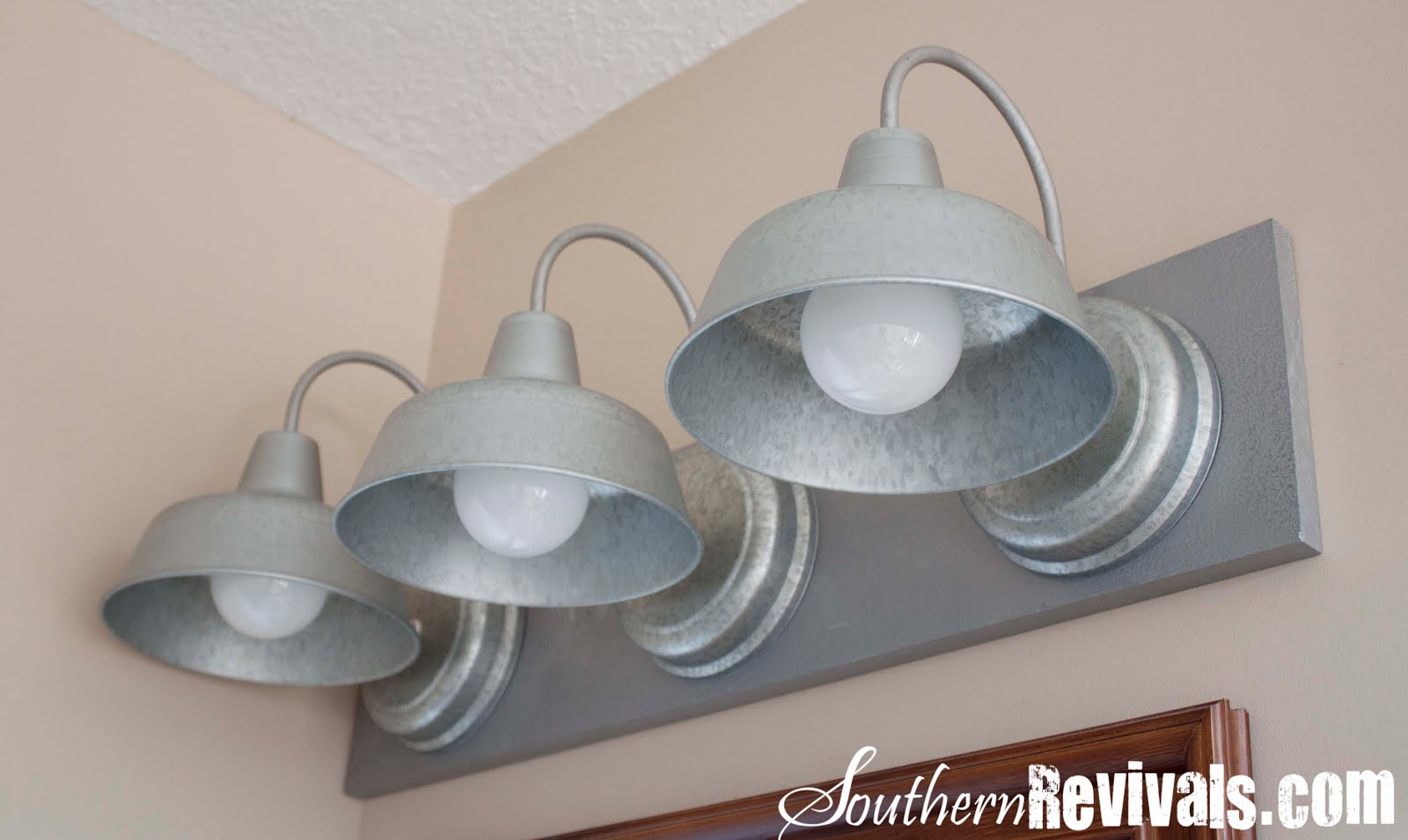 diy galvanized light fixture tutorial my first lil luna