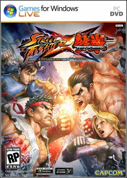 Modelo Capa Download   Street Fighter X Tekken SKIDROW   PC (2012)