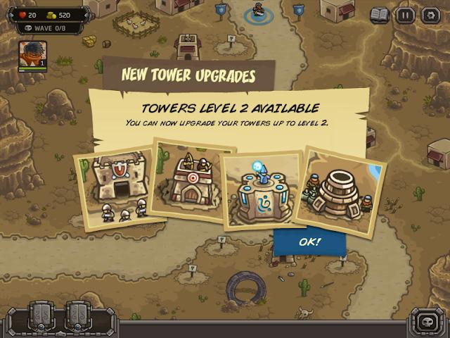Kingdom Rrush Frontiers 可用的碉堡
