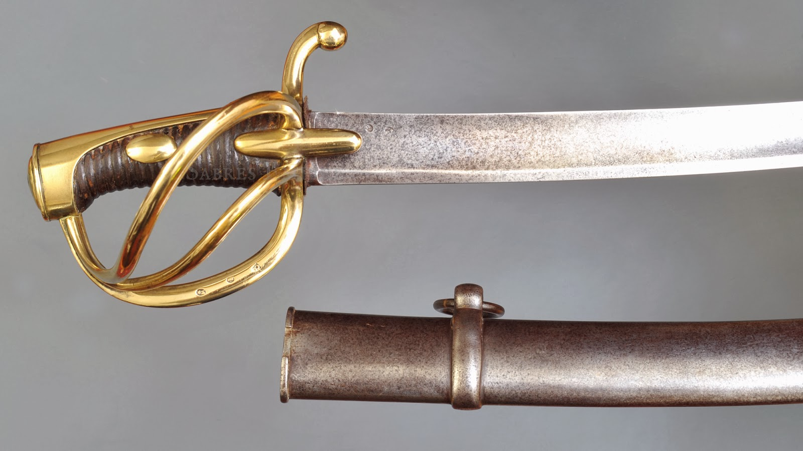 Napoleonic Swords and Sabers Collection: AN XI Light ... Sabre Sword
