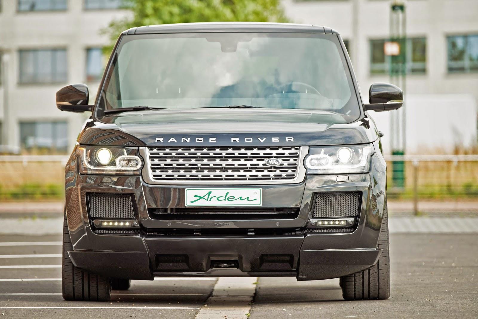 Auto-Motor-Tuning - A.M.T.: Arden Range Rover Aerodynamikpaket