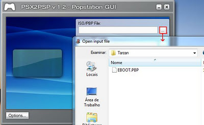 how to run ps1 eboot on psp