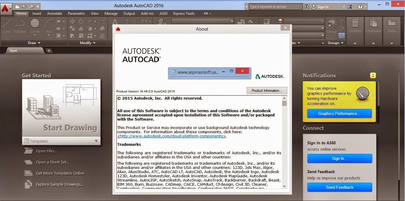 Autodesk AutoCAD 2016 Full