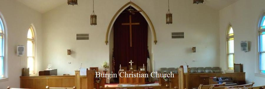 Burgin Christian Church