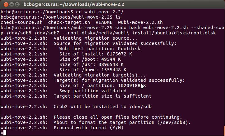 ubuntu with wubi april 2012