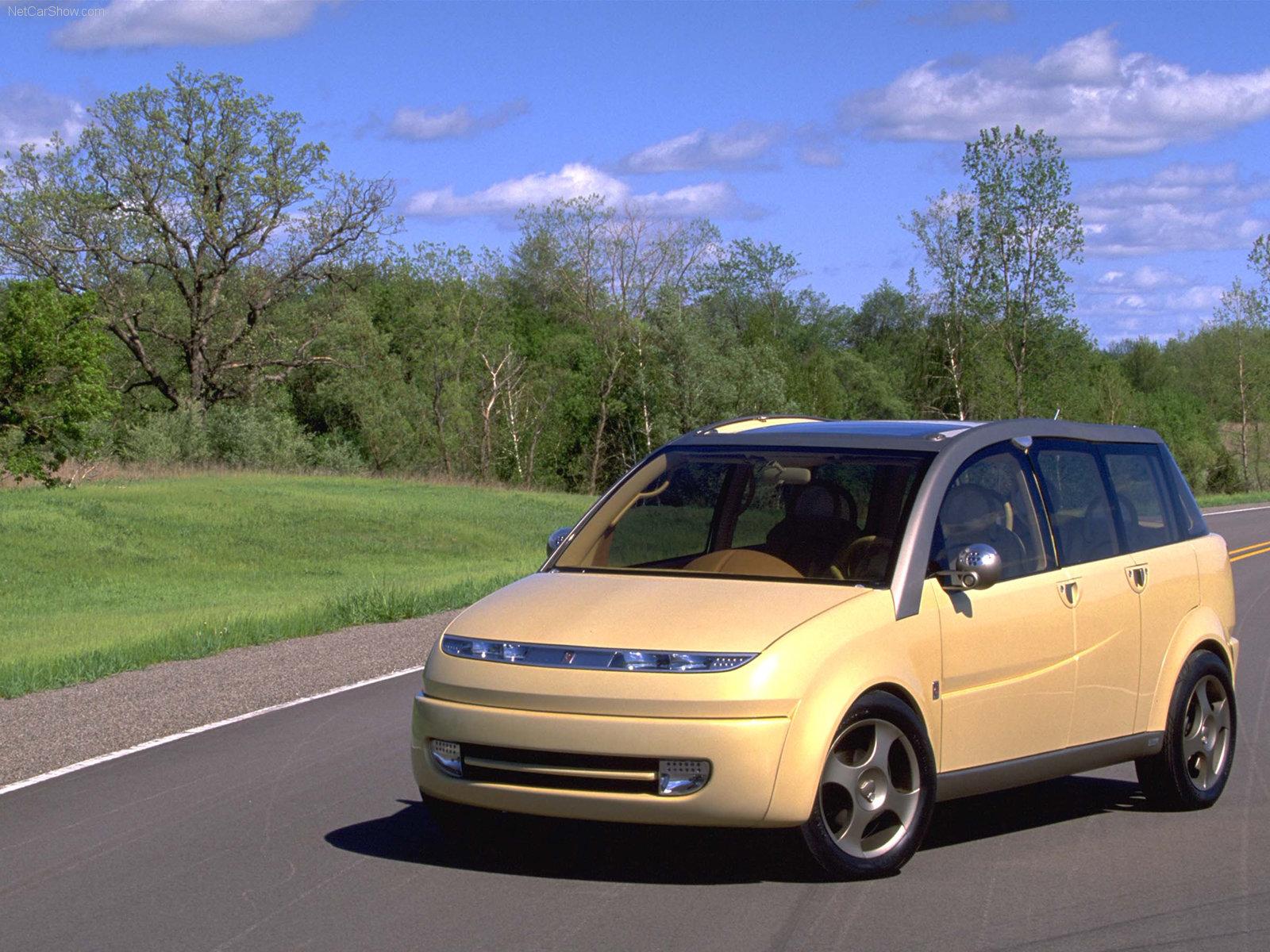 Hình ảnh xe ô tô Saturn CV1 Concept 2000 & nội ngoại thất