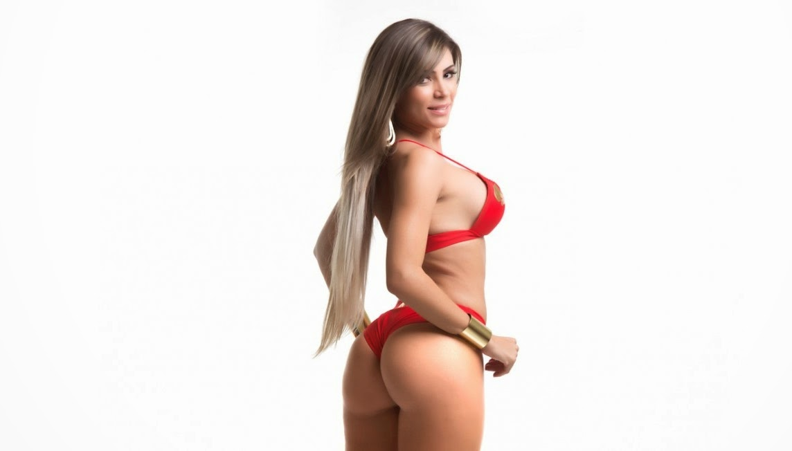Ana Paula Souza Candidata do Distrito Federal no Miss Bumbum (2014)