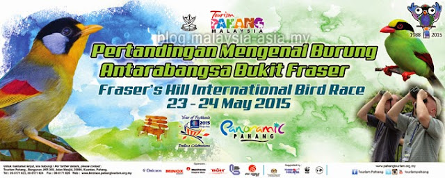 Fraser's Hill International Bird Race 2015 Banner