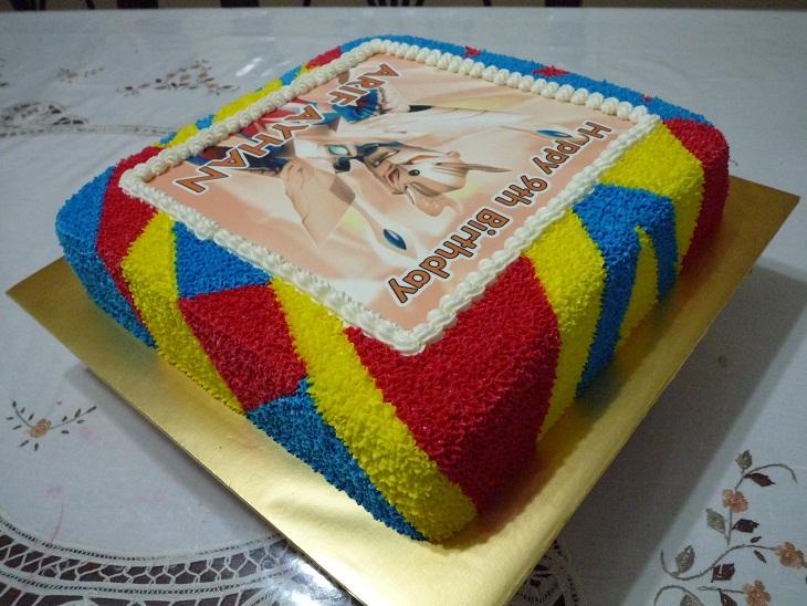GG Home Biz Cakes & Wedding Cakes: Ultraman Zero Birthday ...