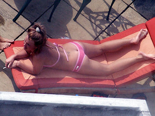Britney Spears Ass in a Bikini
