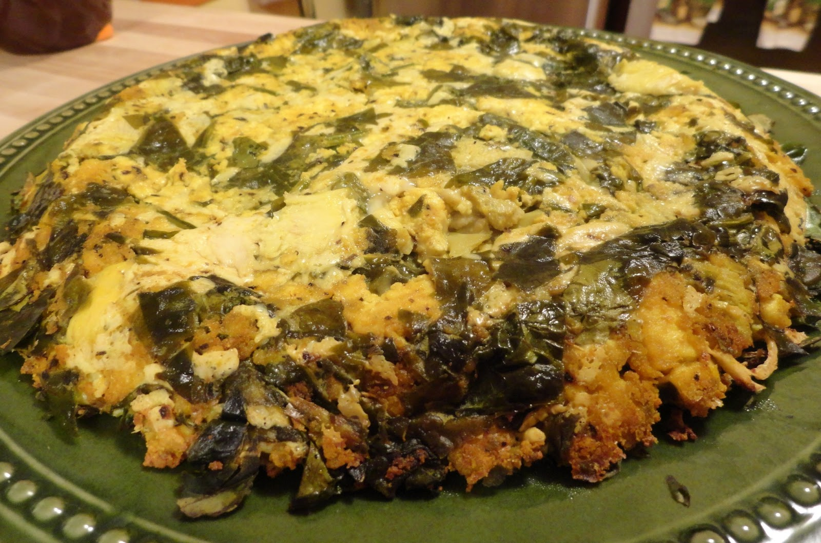 "Spinach, Artichoke and Mozzarella Tofu Frittata | The ""V"" Word"