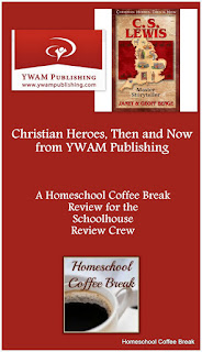 C.S. Lewis: Master Storyteller (Christian Heroes, Then and Now from YWAM Publishing), a review on Homeschool Coffee Break @ kympossibleblog.blogspot.com