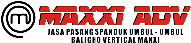 JASA PASANG SPANDUK UMBUL - UMBUL BALIGHO VERTICAL MAXXI ADVERTISING      085314952301  08782337571