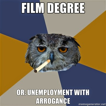Film degree meme