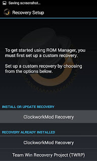 how to install clockworkmod