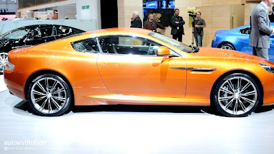 luxury cars - aston martin