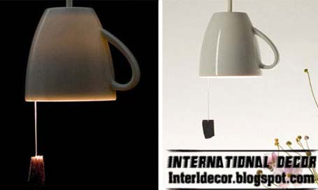 amazing ceiling lamps tea cup designs unique lamp designs