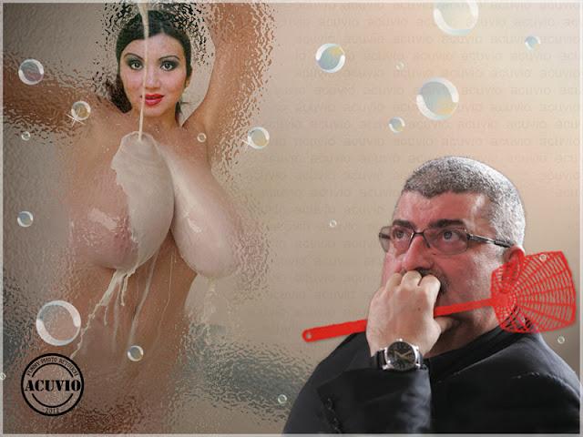 Funny image Silviu Prigoană Adriana Bahmuţeanu