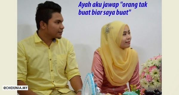 Bertunang Sesaat, Gadis Dinikahi Secara Spontan !..