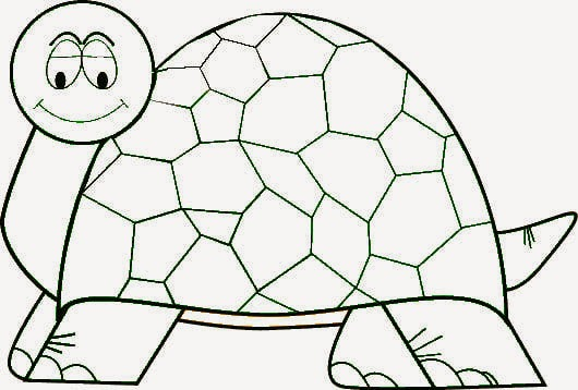 rules of the jungle turtle pictures to print and color