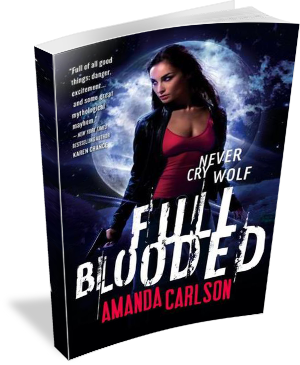 Book Cover: Full Blooded by Amanda Carlson
