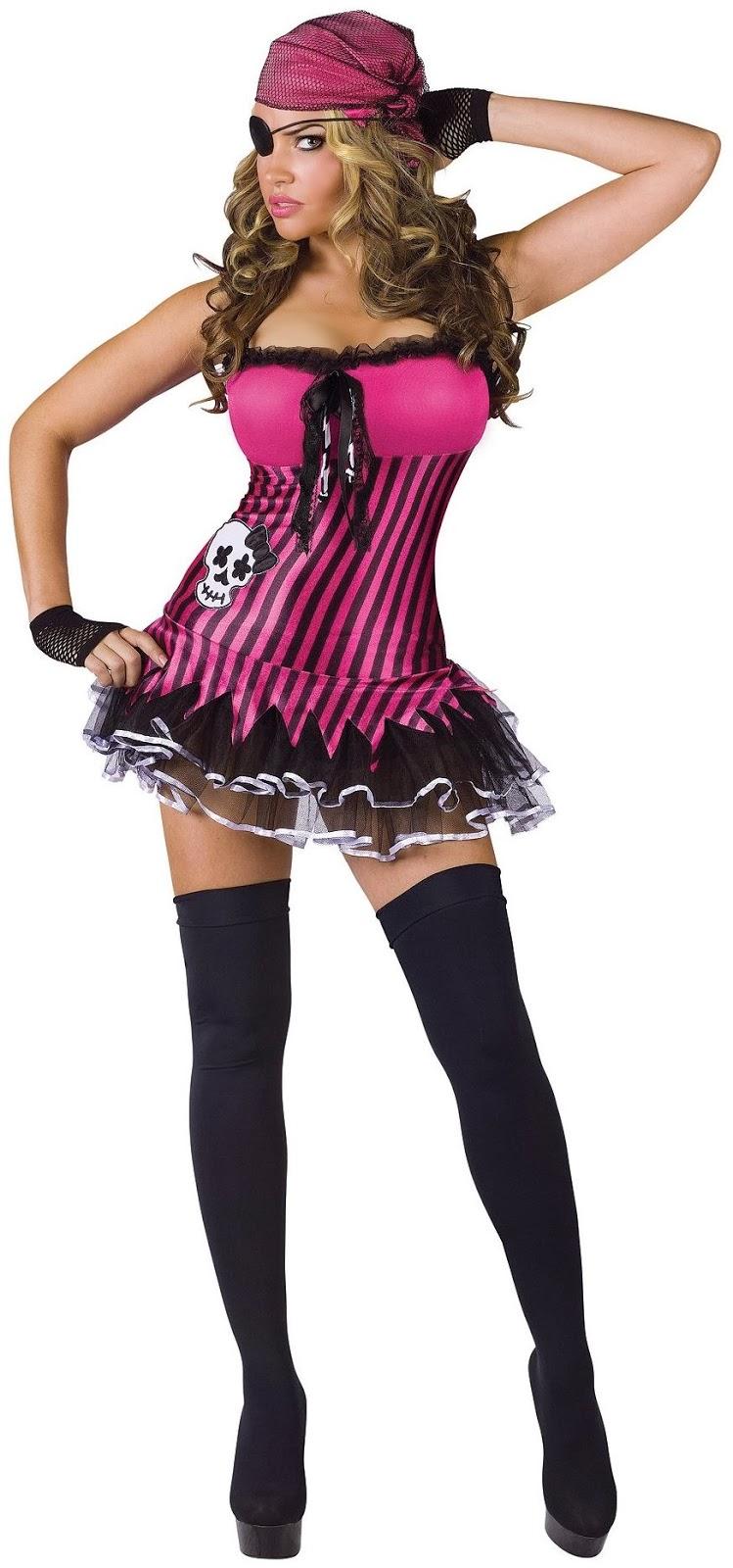 Rockin' Skull Pirate Adult Costume