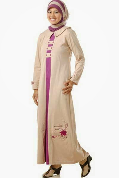 Foto Desain Baju Muslim Remaja Wanita Terbaru