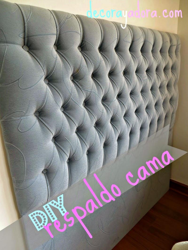 Decora y adora dormitorio florencia - Como forrar muebles con tela ...