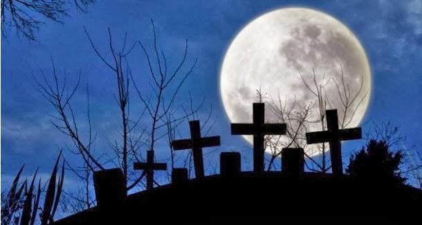 A Lua é um cemitério