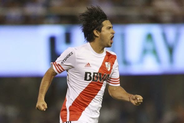 Pisculichi, gol, golazo, River, River Plate, Rafaela, Atletico de Rafaela, Torneo Transicion, 2014,