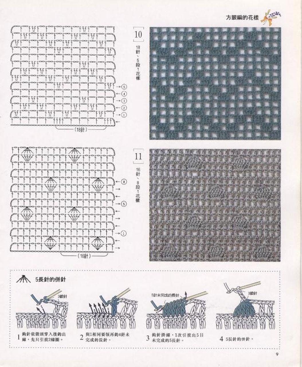 si sa tricotam: modele crosetate- scheme si video, Crochet Patterns ...