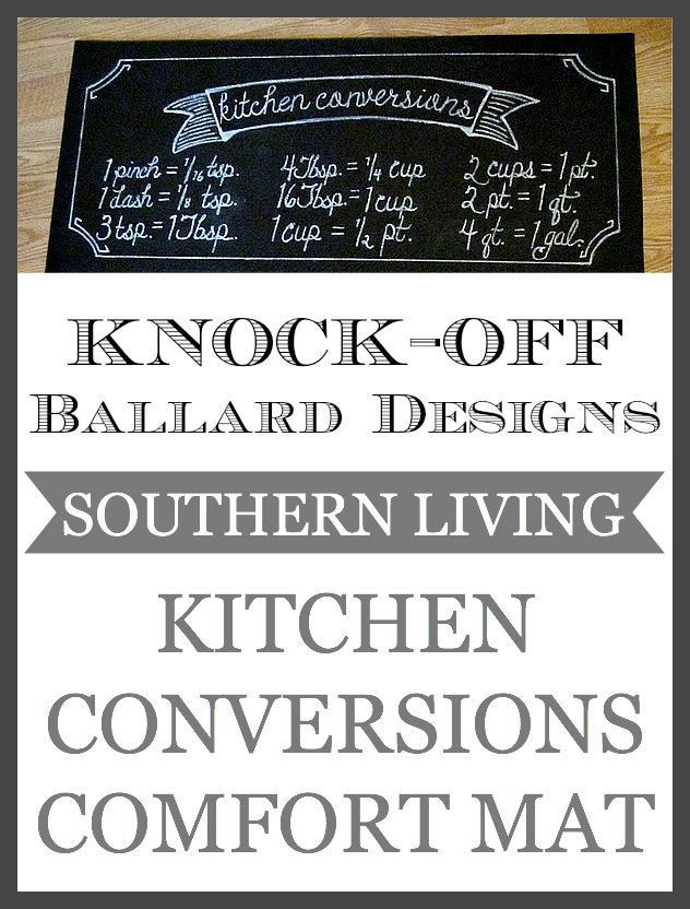 Knock Off Ballard Designs Southern Living Kitchen Conversions