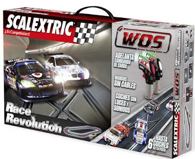 JUGUETES - Scalextric WOS - Circuito Race Revolution  2015 | Comprar en Amazon España