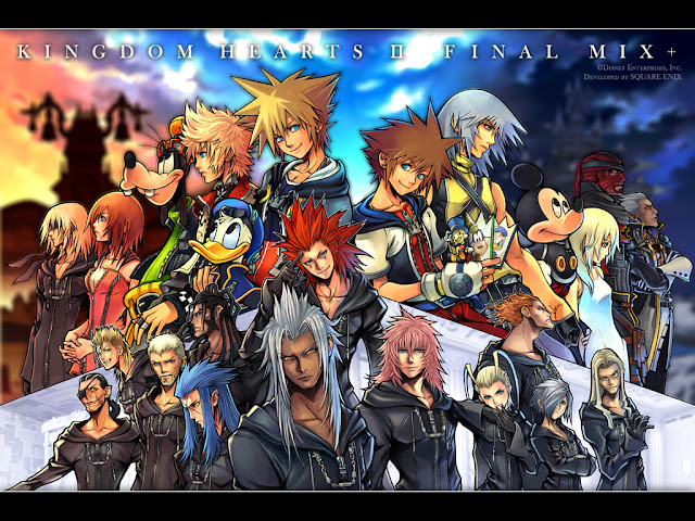 kingdom hearts square enix jrpg japanese role playing game