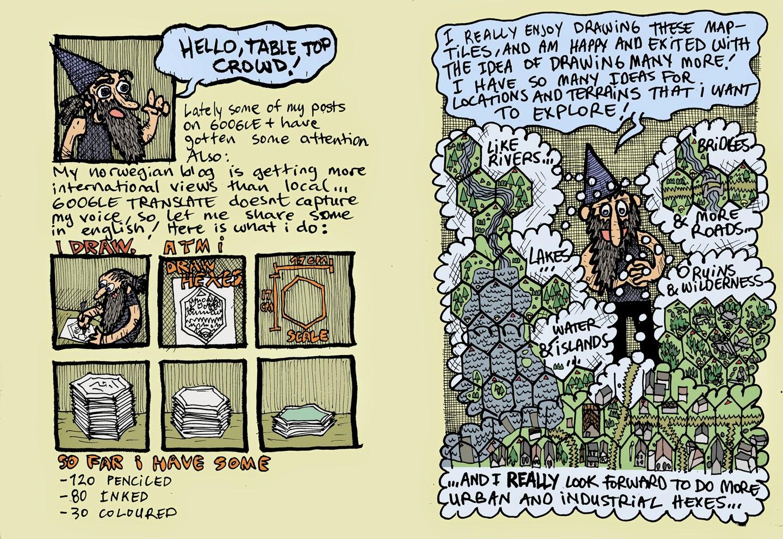 Free GM Resource: Fantasy Map Tiles from FantasiFjas
