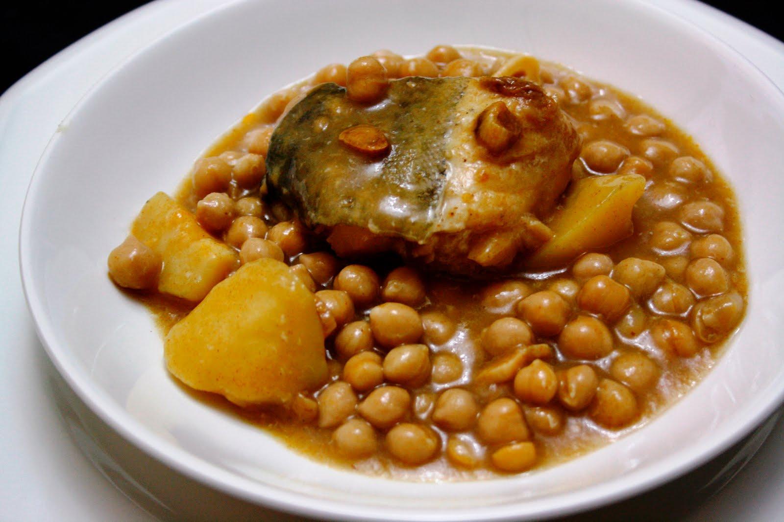 La cocina de maricarmen garbanzos con bacalao - Cocinas maricarmen ...