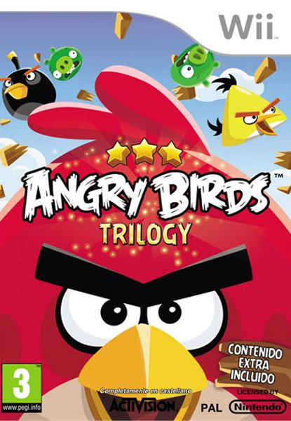 [Wii] WII Angry Birds Trilogy Spa,Eng,Fre NTSC-U Primicia Agosto 2013