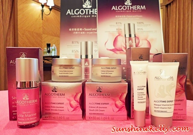 Algotherm AlgoTime Expert Perfect Youth, Algotherm, AlgoTime Expert, Perfect Youth, anti aging skincare, skincare, Marine Life Serum, Winkle intensive filler, youth wrinkle cream, youth lift cream, youth vitamin mask