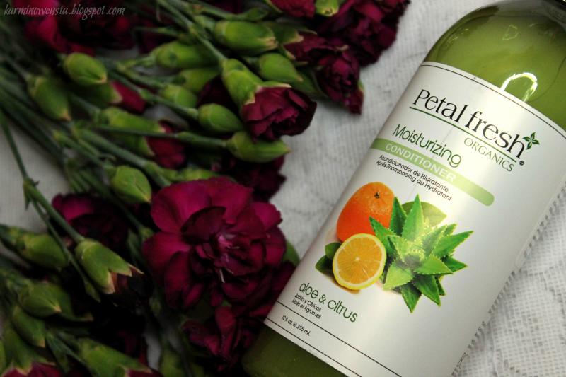 Petal Fresh Organics nawilżająca odżywka do włosów