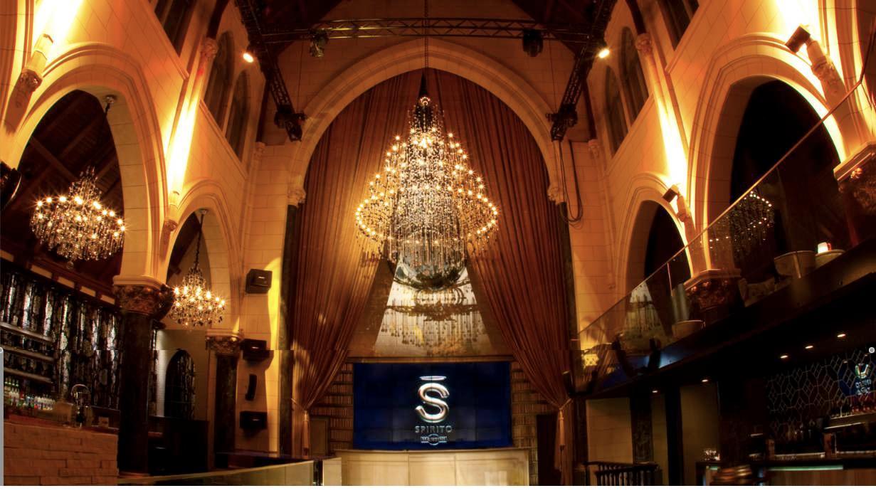 La iluminaci n de los lounge bar spirito en bruselas - Iluminacion de bares ...