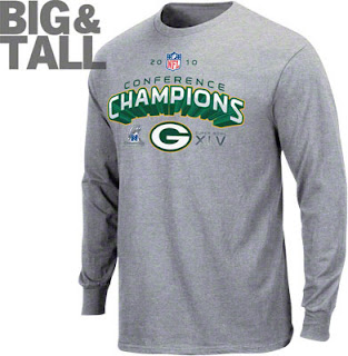 Green Bay Packers Long Sleeve Super Bowl Champions Shirt