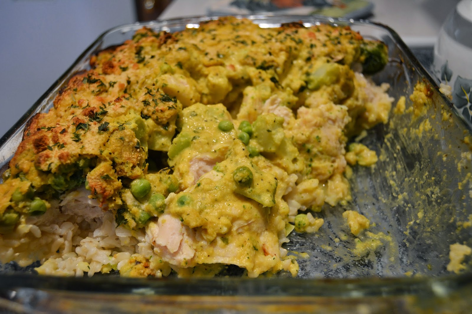Sorry, this casserole was quite unphotogenic. It was very good, though ...