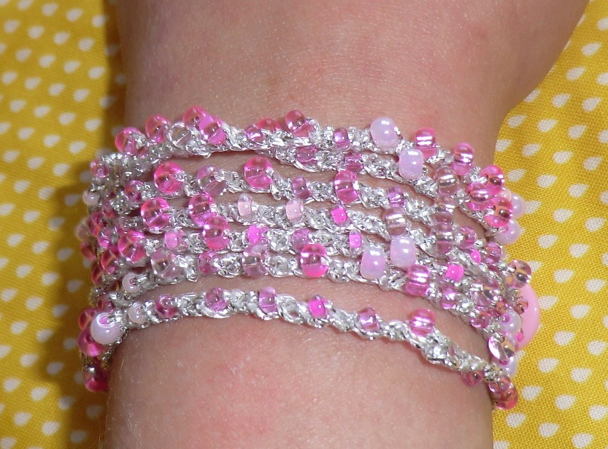 Amigurumi Jewelry Patterns : Amigurumi Barmy: Crochet bracelet