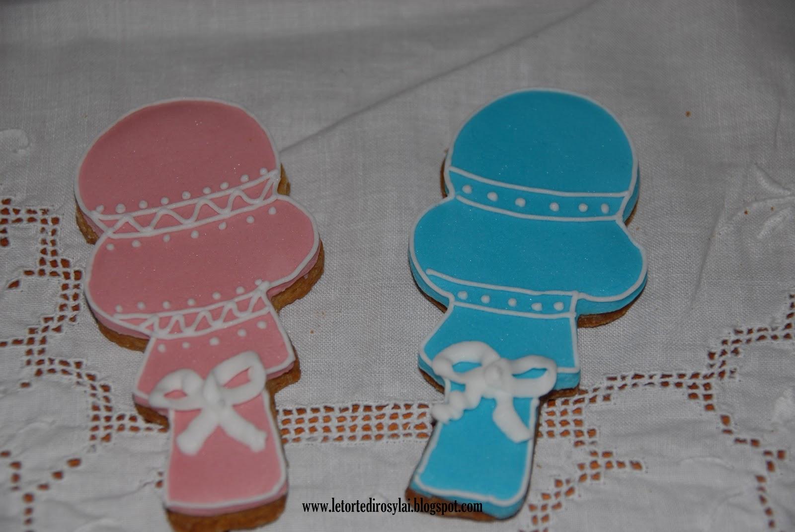 Le torte di rosy lai biscotti decorati nascita o